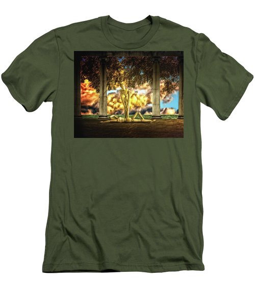 Men's T-Shirt (Slim Fit) featuring the photograph Daybreak Redux by Mark Fuller