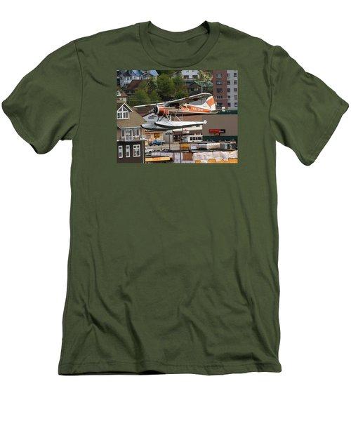 De Havilland Beaver Is Airborne Men's T-Shirt (Slim Fit) by Allan Levin