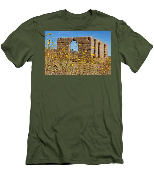 Death Valley Superbloom 404 Men's T-Shirt (Slim Fit) by Daniel Woodrum