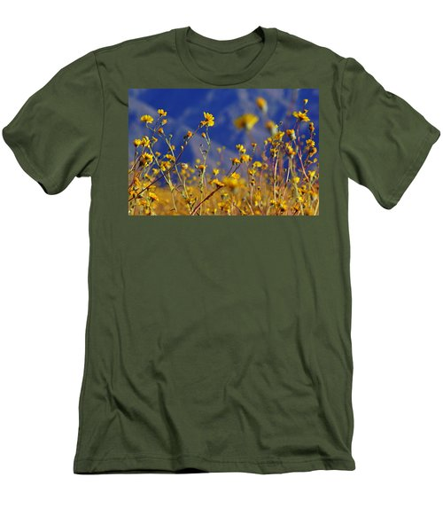 Death Valley Superbloom 505 Men's T-Shirt (Slim Fit) by Daniel Woodrum