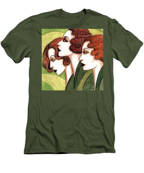 Debutante Trio Men's T-Shirt (Athletic Fit)