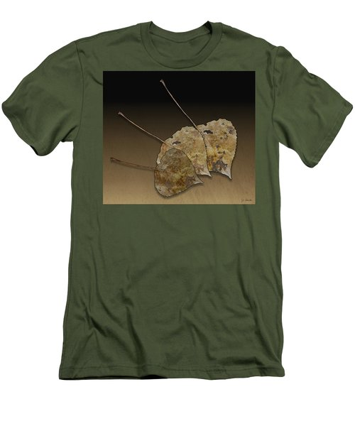 Men's T-Shirt (Slim Fit) featuring the photograph Decaying Leaves by Joe Bonita