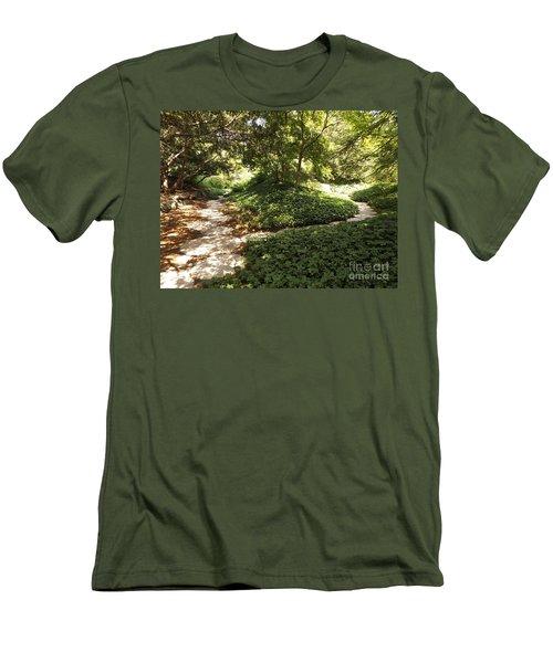 Decions Men's T-Shirt (Slim Fit) by Erick Schmidt