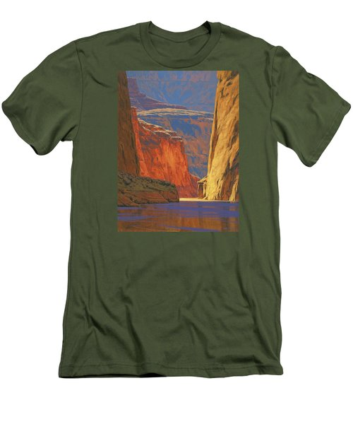 Deep In The Canyon Men's T-Shirt (Slim Fit) by Cody DeLong