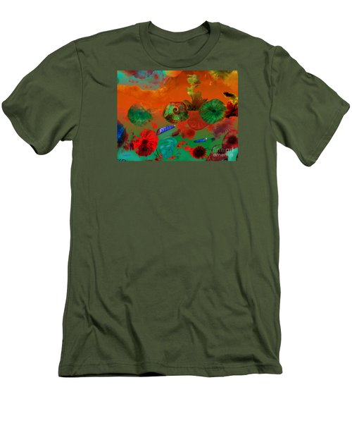 Deep In The Sea Men's T-Shirt (Slim Fit) by Haleh Mahbod