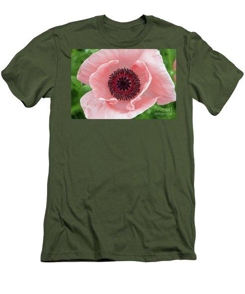 Deep Pink Men's T-Shirt (Slim Fit) by Jim Gillen