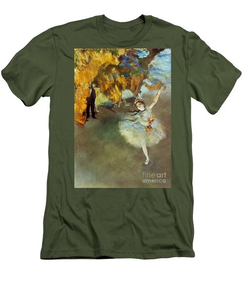 Degas: Star, 1876-77 Men's T-Shirt (Athletic Fit)
