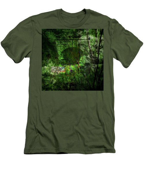Delaware Green Men's T-Shirt (Athletic Fit)