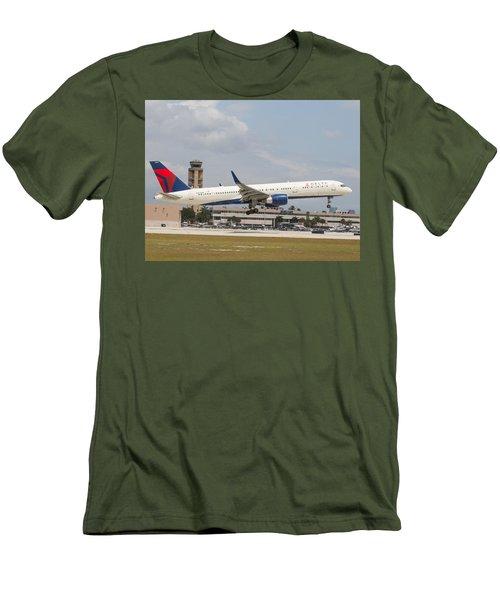 Delta Airline Men's T-Shirt (Athletic Fit)