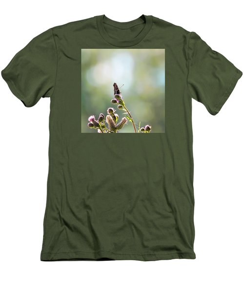 Men's T-Shirt (Slim Fit) featuring the photograph Demon by Leif Sohlman