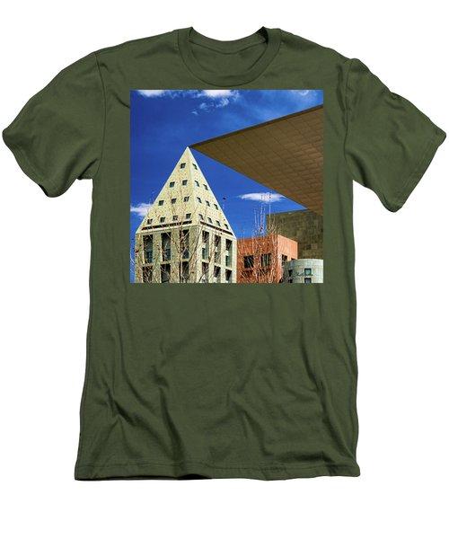Denver Urban Geometry Men's T-Shirt (Athletic Fit)