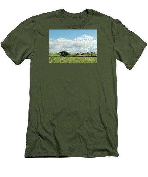 Derbyshire Landscape Men's T-Shirt (Athletic Fit)