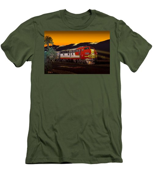 Desert Palms Men's T-Shirt (Athletic Fit)