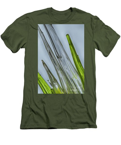 Glass Men's T-Shirt (Slim Fit) by Anne Rodkin