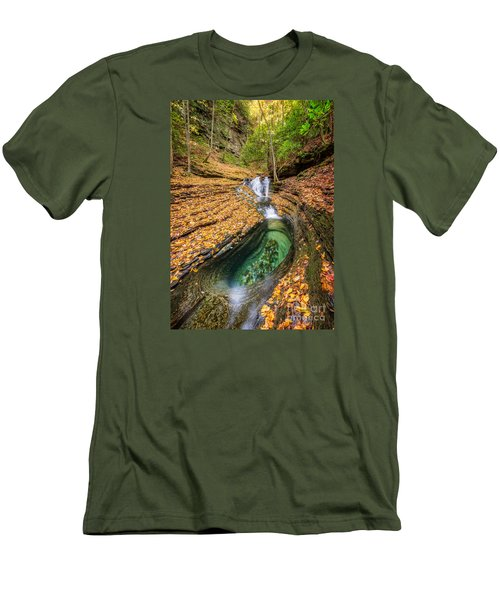 Devils Bathtub Autumn Men's T-Shirt (Athletic Fit)
