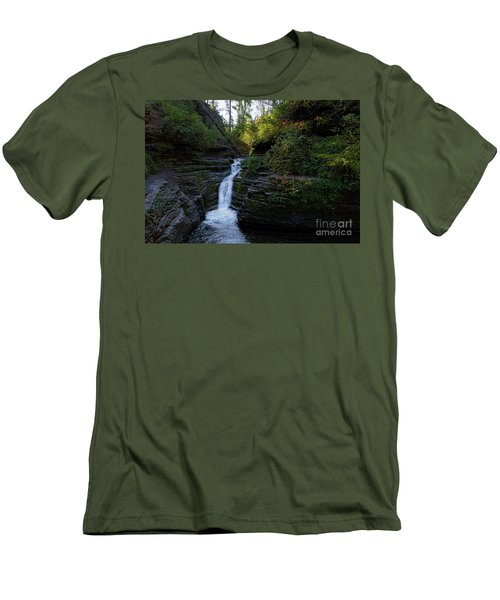 Devil's Bathtub In The Morning Men's T-Shirt (Athletic Fit)