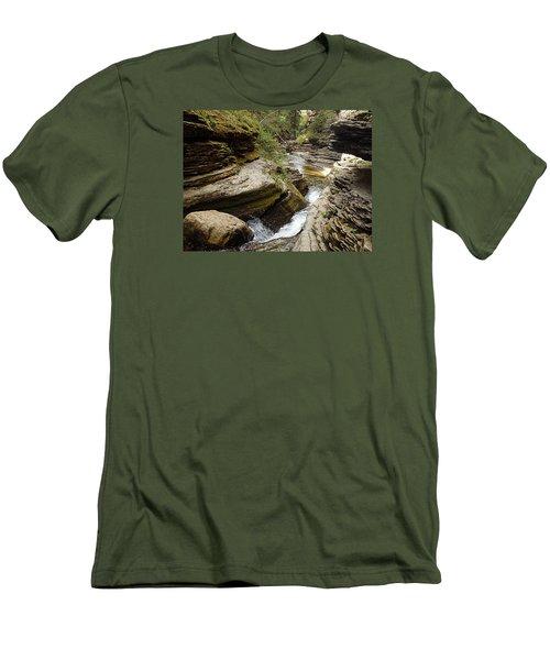 Devil's Bathtub Sd Men's T-Shirt (Slim Fit) by James Peterson