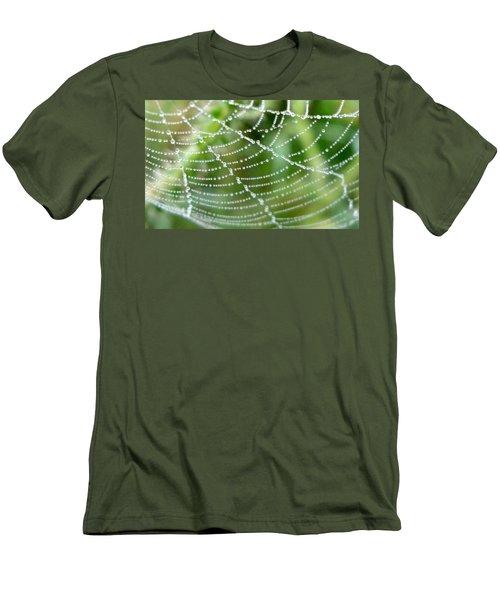 Dewdrops  Men's T-Shirt (Athletic Fit)