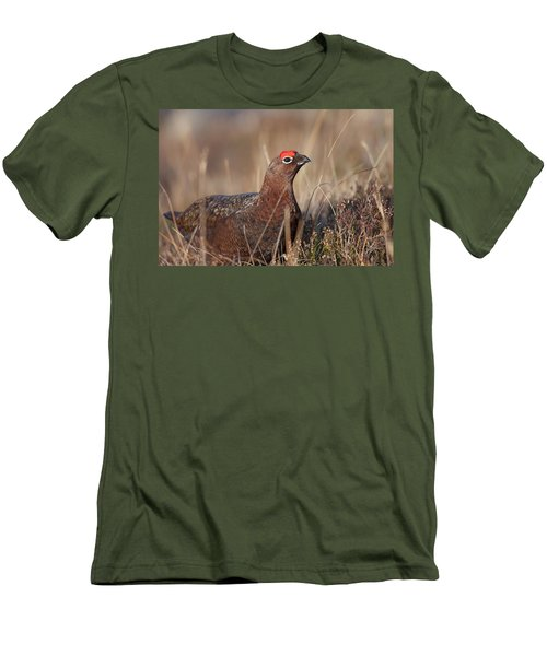 Did I Overdo It With The Eye Shadow? Men's T-Shirt (Athletic Fit)
