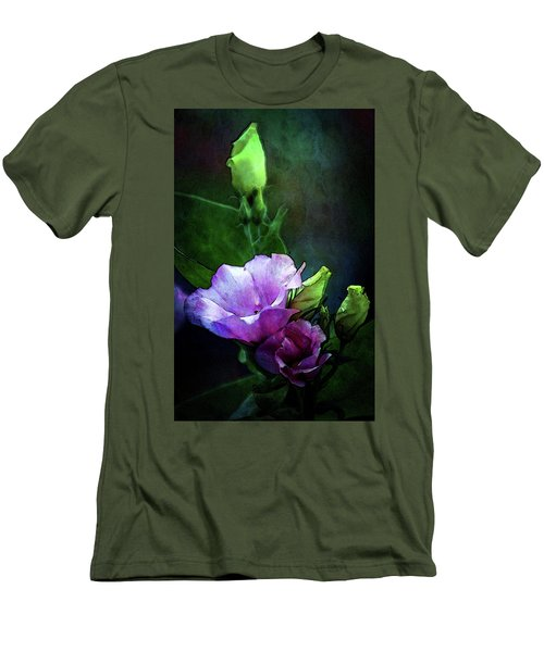 Digital Watercolor Elegance 3700 W_2 Men's T-Shirt (Athletic Fit)