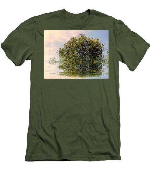 Dimensional Men's T-Shirt (Slim Fit) by Elfriede Fulda