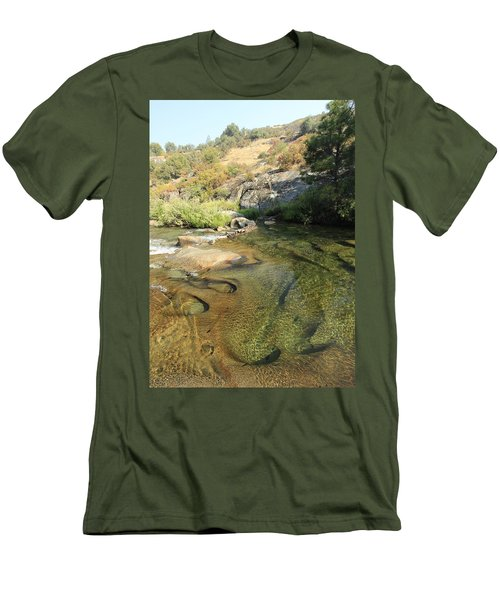 Men's T-Shirt (Athletic Fit) featuring the photograph Dimensions by Sean Sarsfield