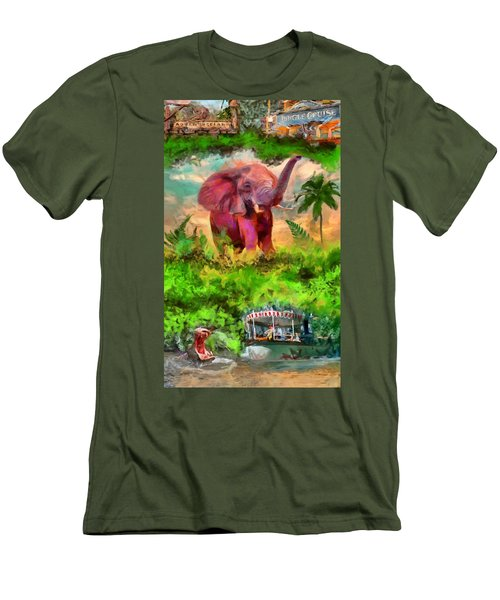 Disney's Jungle Cruise Men's T-Shirt (Slim Fit) by Caito Junqueira