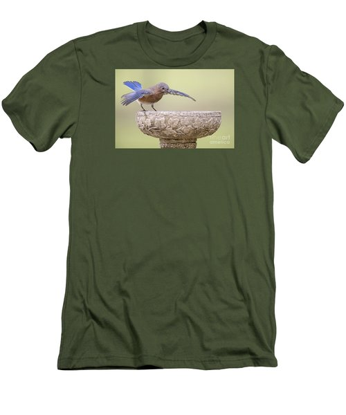 Diving In Men's T-Shirt (Slim Fit) by Bonnie Barry