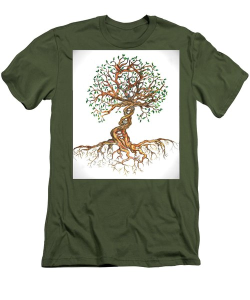 Dna Tree Of Life Men's T-Shirt (Athletic Fit)