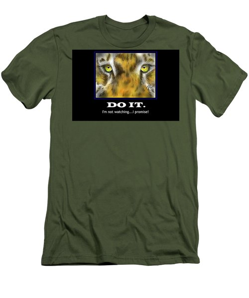 Do It Motivational Men's T-Shirt (Slim Fit) by Darren Cannell