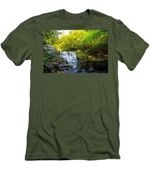 Doans Falls Lower Falls Men's T-Shirt (Athletic Fit)