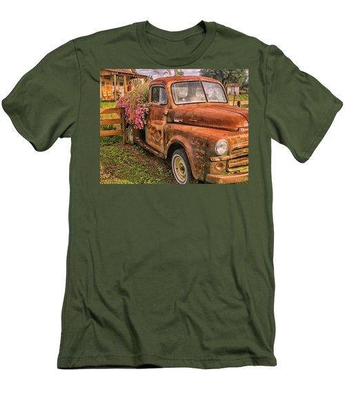 Dodge Flower Pot Men's T-Shirt (Athletic Fit)