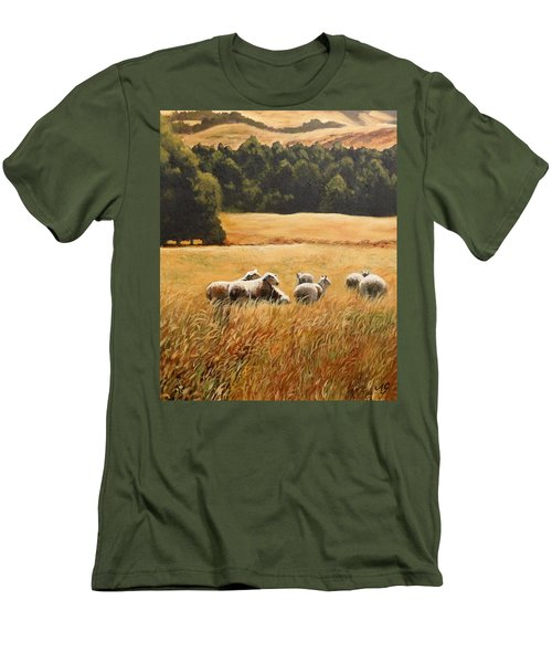 Does My Bum Look Big In This Paddock? Men's T-Shirt (Athletic Fit)