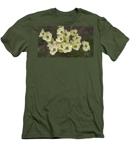 Dogwood Dance In White Men's T-Shirt (Athletic Fit)