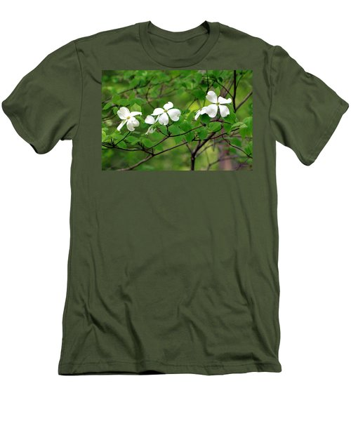 Dogwoods Men's T-Shirt (Athletic Fit)