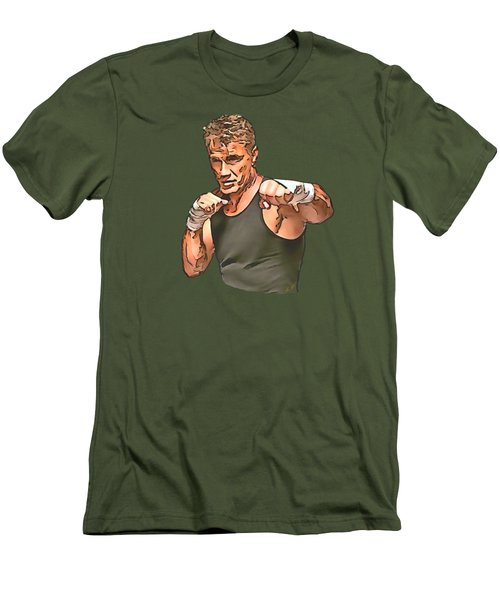 Dolph Lundgren Men's T-Shirt (Athletic Fit)