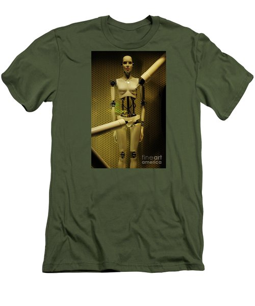 Men's T-Shirt (Slim Fit) featuring the photograph Domo Arigato Ms. Robato by Craig Wood
