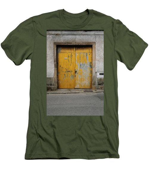 Men's T-Shirt (Slim Fit) featuring the photograph Door No 152 by Marco Oliveira