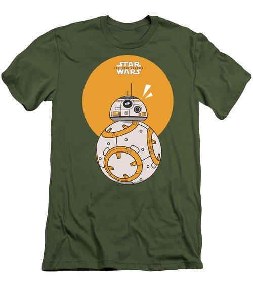 Dotted Starwars Men's T-Shirt (Slim Fit) by Mentari Surya
