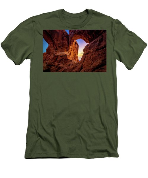 Double Arch Men's T-Shirt (Athletic Fit)