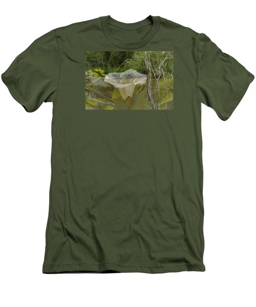 Men's T-Shirt (Slim Fit) featuring the photograph Double by Leif Sohlman
