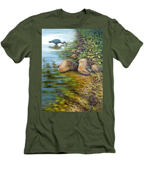 Down The Hatch Men's T-Shirt (Athletic Fit)