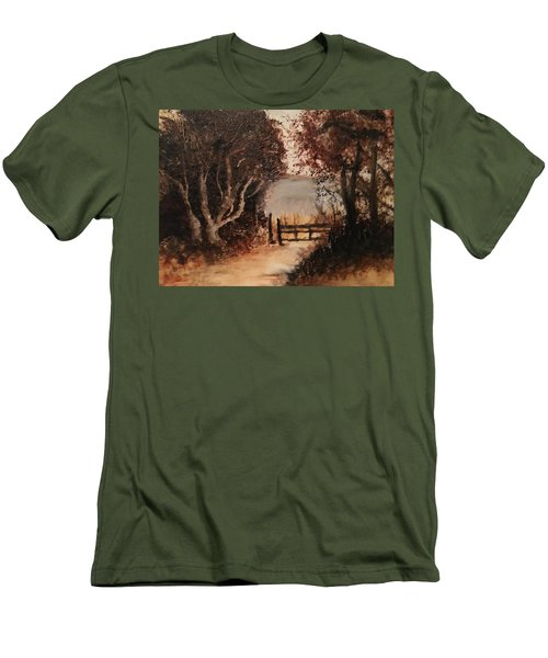 Down The Path Men's T-Shirt (Athletic Fit)