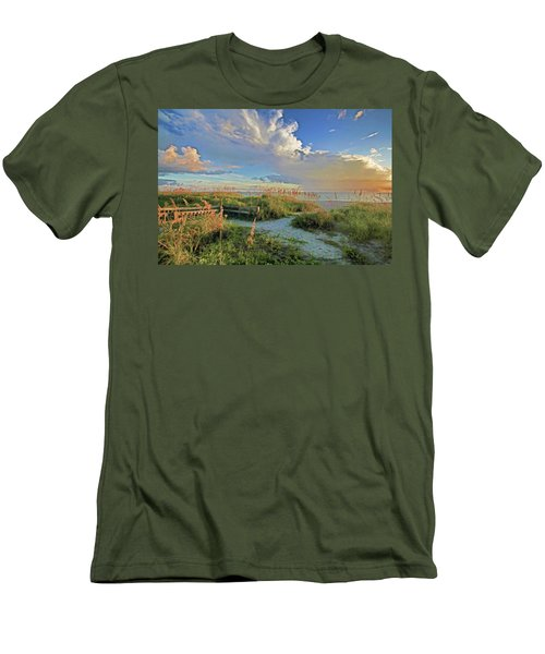 Down To The Beach 2 - Florida Beaches Men's T-Shirt (Athletic Fit)