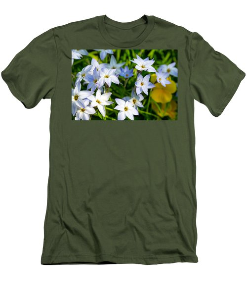 Downtown Wildflowers Men's T-Shirt (Athletic Fit)