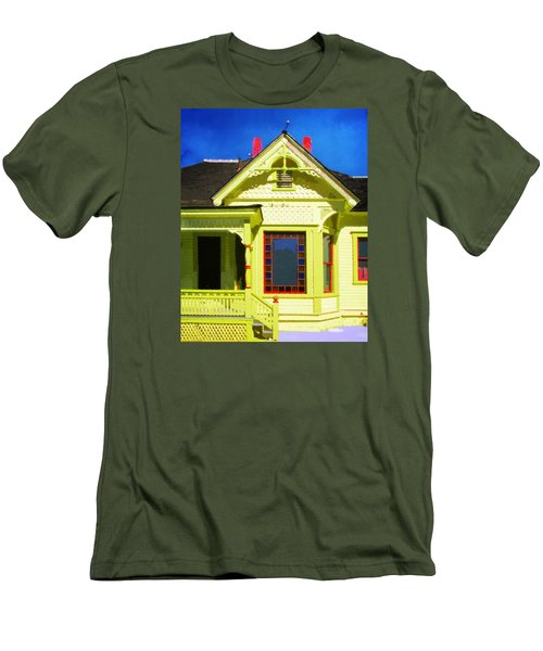Dr. Clark's House 2 Men's T-Shirt (Slim Fit) by Timothy Bulone