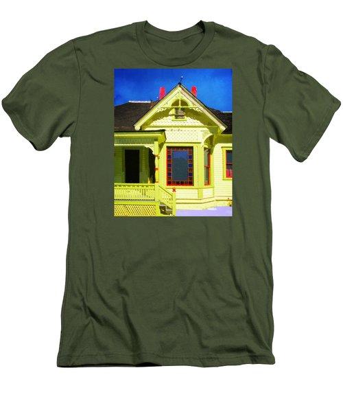 Dr. Clark's House 2 Men's T-Shirt (Athletic Fit)