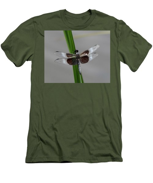 Dragon Fly Men's T-Shirt (Slim Fit) by Jerry Battle