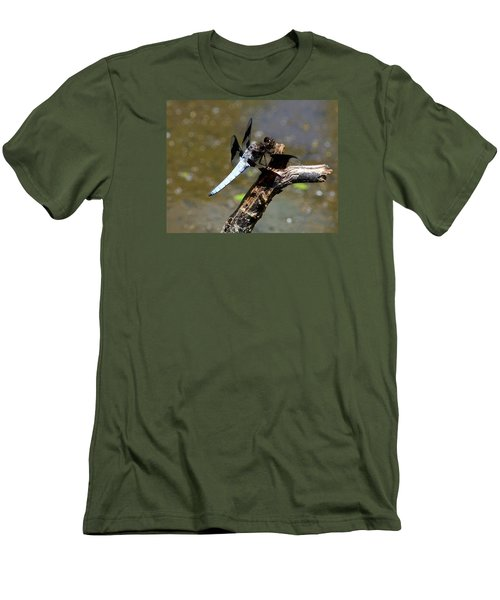 Dragonfly Men's T-Shirt (Slim Fit) by Kathy Eickenberg
