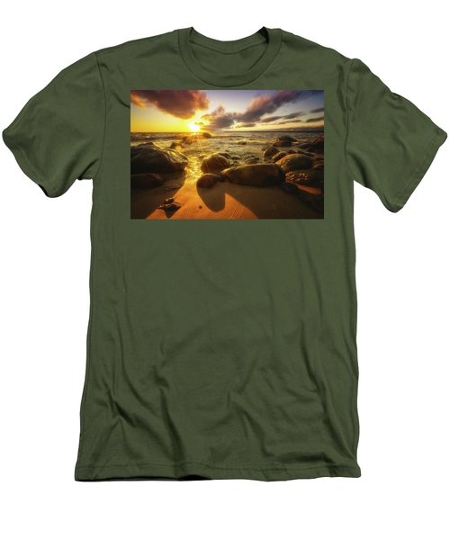 Drama On The Horizon Men's T-Shirt (Athletic Fit)